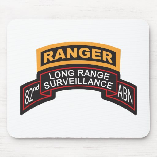 82nd Airborne LRS Scroll, Ranger Tab Mouse Pad