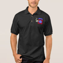82nd Airborne [Parachutes] Polo Shirt