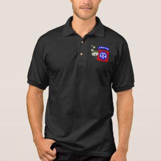 82nd Airborne [Parachutes] Polo Shirt