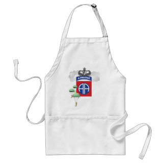82nd Airborne, Paratroopers, Senior Jump Wings Adult Apron