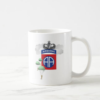 82nd Airborne, Paratroopers, Senior Jump Wings Coffee Mug