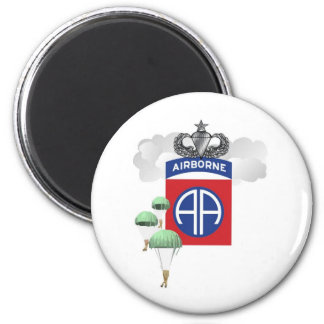 82nd Airborne, Paratroopers, Senior Jump Wings Refrigerator Magnets