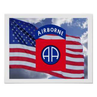 82nd Airborne Poster