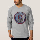 82nd Airborne Proud Service Men and Women Tee Shirt