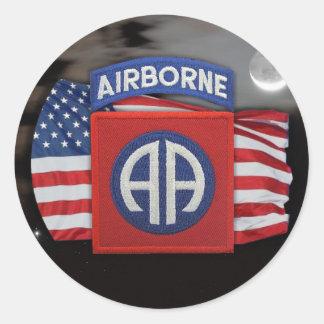 82nd airborne scrapbooking veterans iraq  Sticker