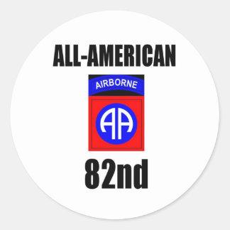 82nd Airborne Stickers