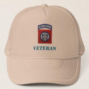 82nd airborne veteran unit flash iraq patch vietna trucker hat ad94d39e0f3