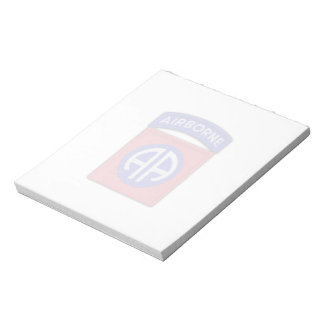 82nd airborne veterans vets patch Notepad
