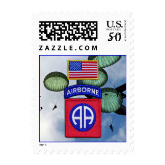 82nd airborne veterans vets patch postage stamps