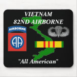 82nd Airborne Vietnam Mousepad 2/b
