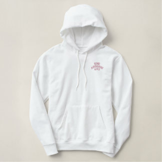 82nd Airborne Wife Embroidered Hoodie