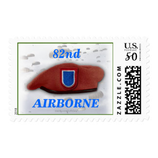 82nd airborne wife veterans vets son mom Postage