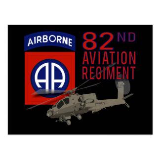 82nd Aviation Regiment Apache Postcard