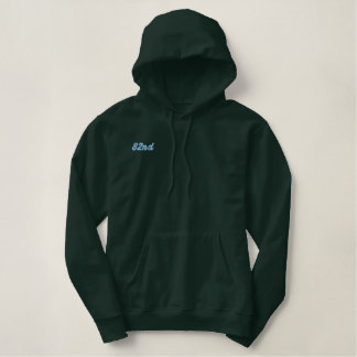 82nd embroidered hoodie