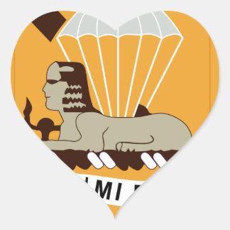82nd Military Intelligence Heart Sticker