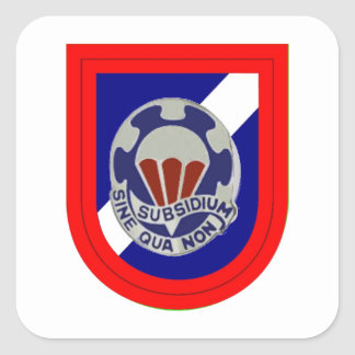 82ND SUPPORT BATTALION FLASH/DUI STICKERS