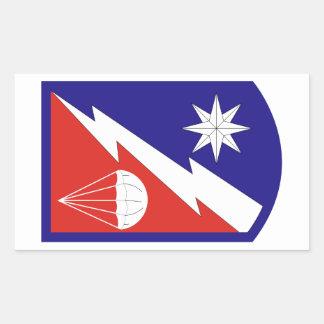 82nd Sustainment Brigade Rectangular Sticker