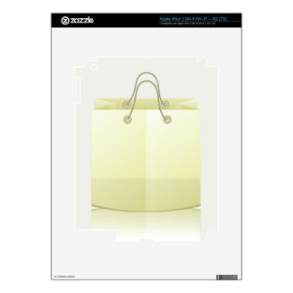 82Paper Shopping Bag_rasterized Decals For iPad 3