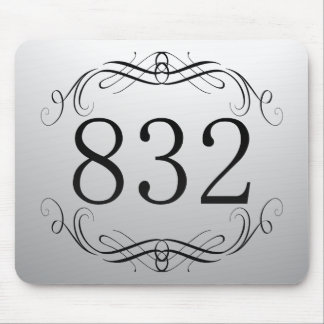 832 Area Code Mouse Pads