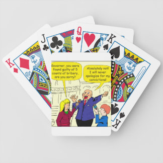 836 convictions cartoon bicycle playing cards
