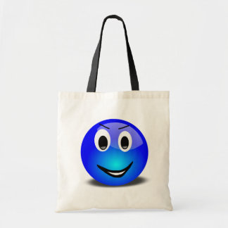 83-Free-3d-Grinning-Blue-Smiley-Face-Clipart-Illus Bags