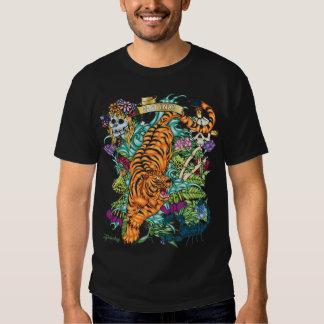 83-TIGER Tattoo Flash T-shirt
