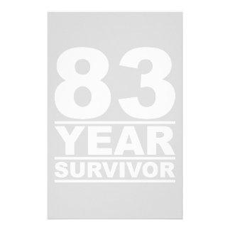 83 year survivor stationery