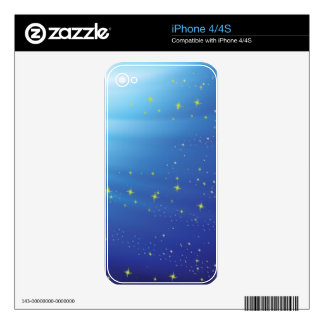 83Blue Background _rasterized Skin For iPhone 4