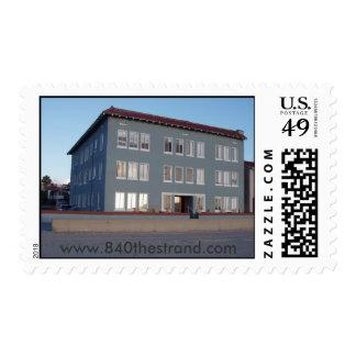 840 The Strand postcard stamp