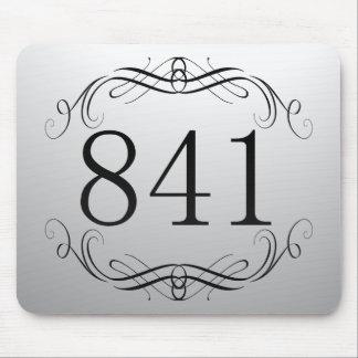 841 Area Code Mousepads