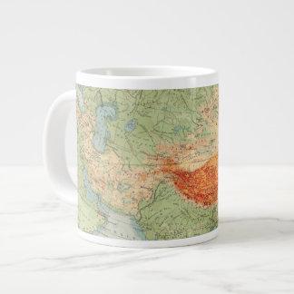 8485 Asia physical Large Coffee Mug