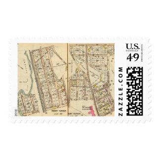 8485 Mt Vernon Sello Postal
