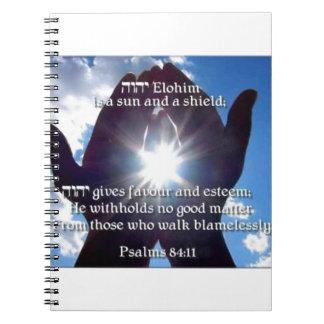 84:11 del salmo cuaderno