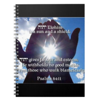 84:11 del salmo libro de apuntes