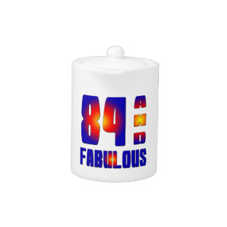 84 And Fabulous Teapot