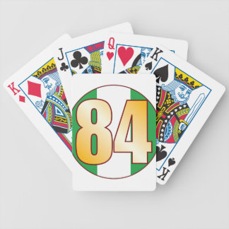 84 NIGERIA Gold Bicycle Playing Cards