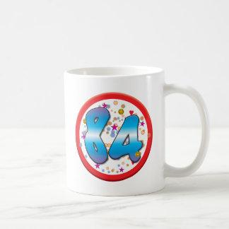 84.o Cumpleaños Tazas De Café