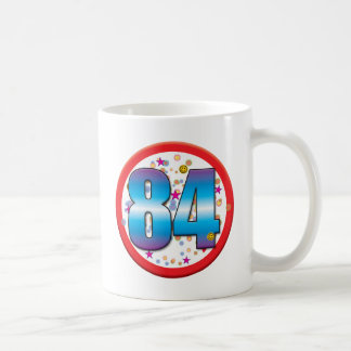 84.o Cumpleaños v2 Taza De Café