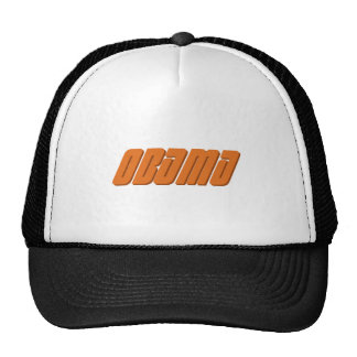 84.OBAMA TRUCKER HAT
