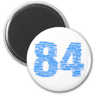 84 Reasons Never To Forget 2 Inch Round Magnet