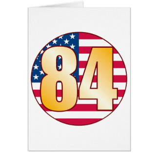 84 USA Gold Card