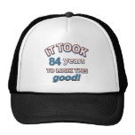 84th birthday designs trucker hat