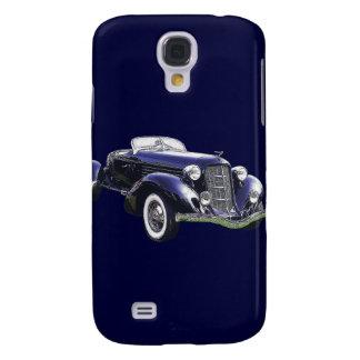 851 Auburn boattail speedster auto black car Samsung S4 Case