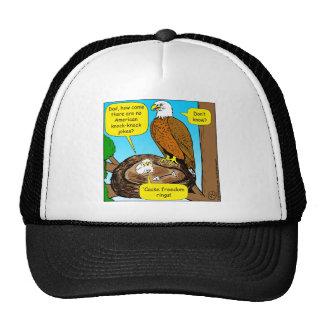 854 freedom rings cartoon trucker hat