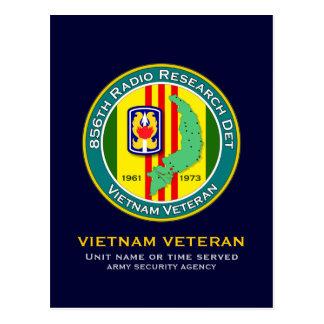 856th RRD 1 - ASA Vietnam Postcard