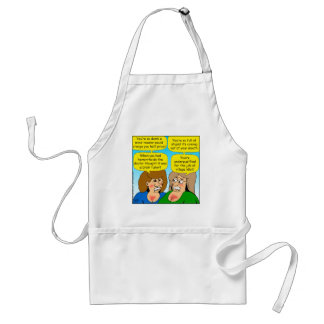 858 angry sisters arguing cartoon adult apron