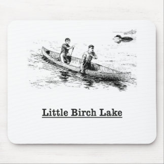 858 canoe sketch mouse pad