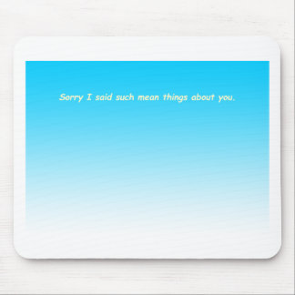 858 sisters arguing card INSIDE cartoon Mouse Pad