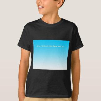 858 sisters arguing card INSIDE cartoon T-Shirt