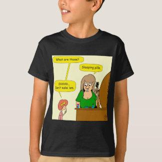 859 sleeping pills cartoon T-Shirt